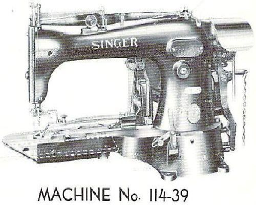 Singer Industrial Sewing Machine Parts Manuals List 5